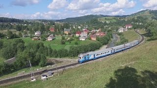 Passenger train in the mountains(, 2016-08-19T10:46:54.000Z)