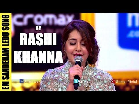 Em Sandeham Ledu Song By Rashi Khanna | Oohalu Gusagusalade
