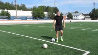 Тренировки по футболу  Ложный замах