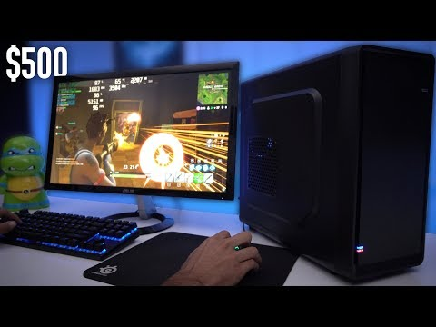 $500 Budget Gaming PC Build Guide - GTX 1050 Ti (w/ Benchmarks)