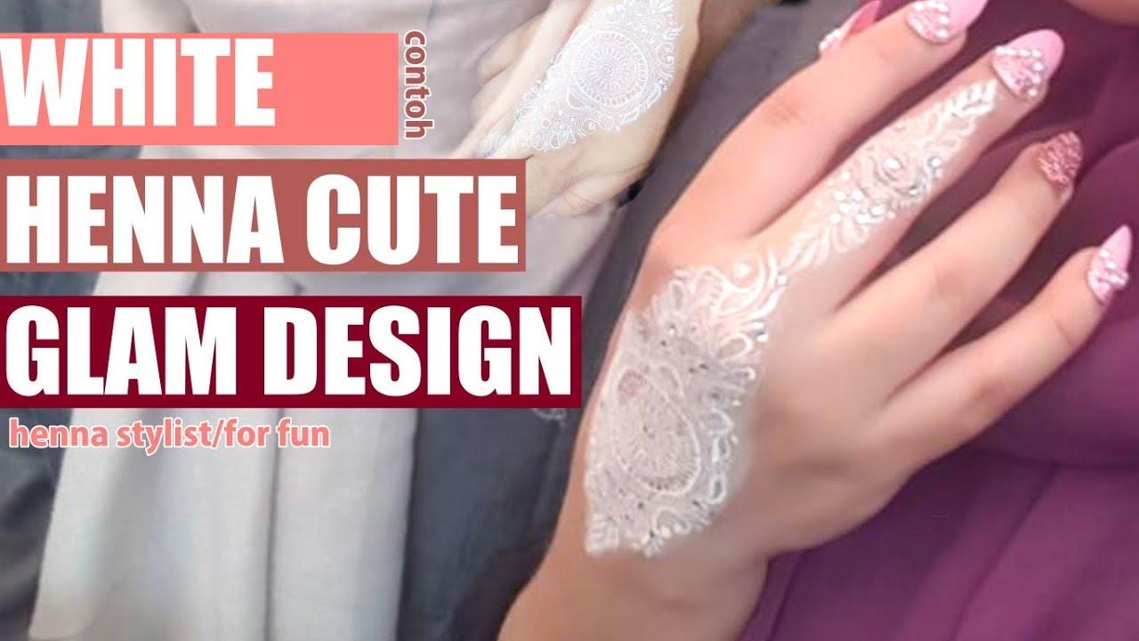 Diy Glam Henna For Engagement Youtube