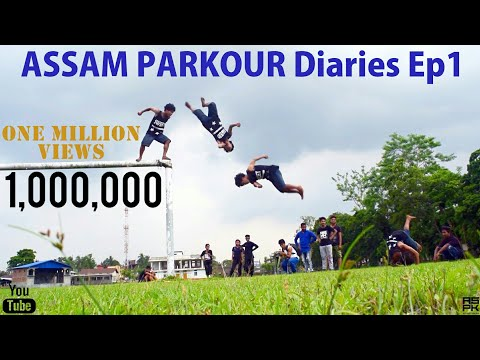 Assam Parkour Diaries Ep1 | Indian Parkour