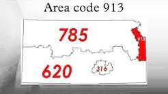 Area code 913