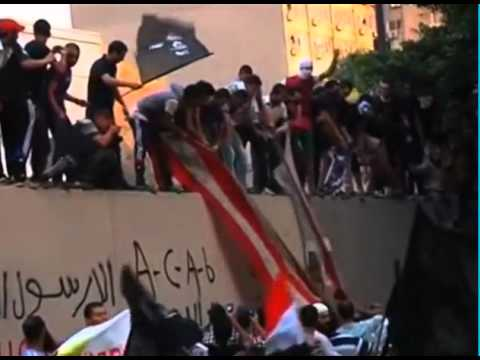 Radical Islamists scale US Embassy walls in Cairo