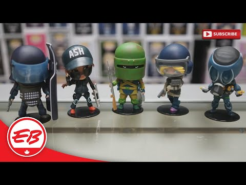Rainbow Six Siege: Chibi Figure Collection | EB Unboxes