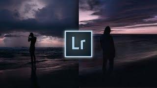 How to Edit Like Tim Kellner (@timtothewild) MOODY DARK Lightroom Tutorial   Purple Sunset