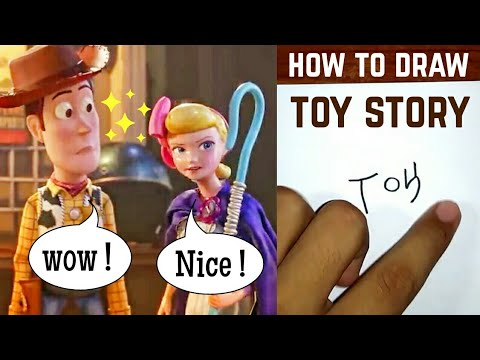 HOW TO DRAW TOY STORY