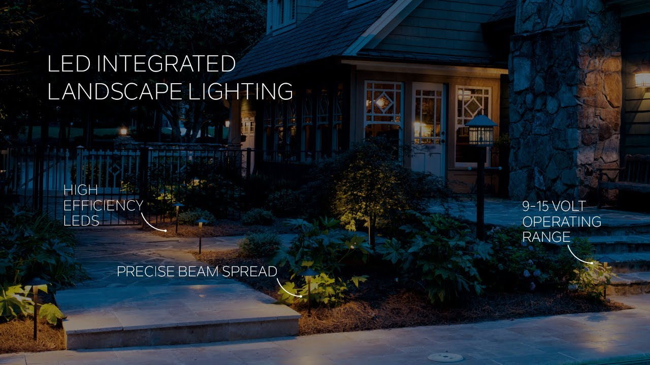 outdoor landscape lighting hardscape path lighting deck lighting kichler lighting [ 1280 x 720 Pixel ]