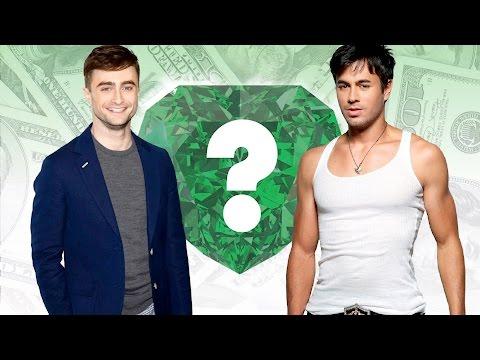 WHO'S RICHER? - Daniel Radcliffe or Enrique Iglesias? - Net Worth Revealed!