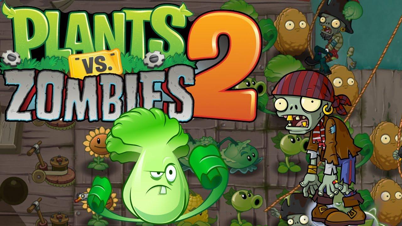 ZOMBIS PIRATAS | LIVE 2.0 | Plants vs zombies 2 - YouTube