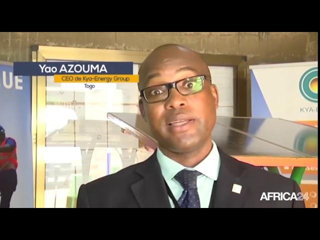 Interview de AFRICA 24 avec le Professeur Yao AZOUMAH, CEO de KYA Energy GROUP sur le Projet d'indus