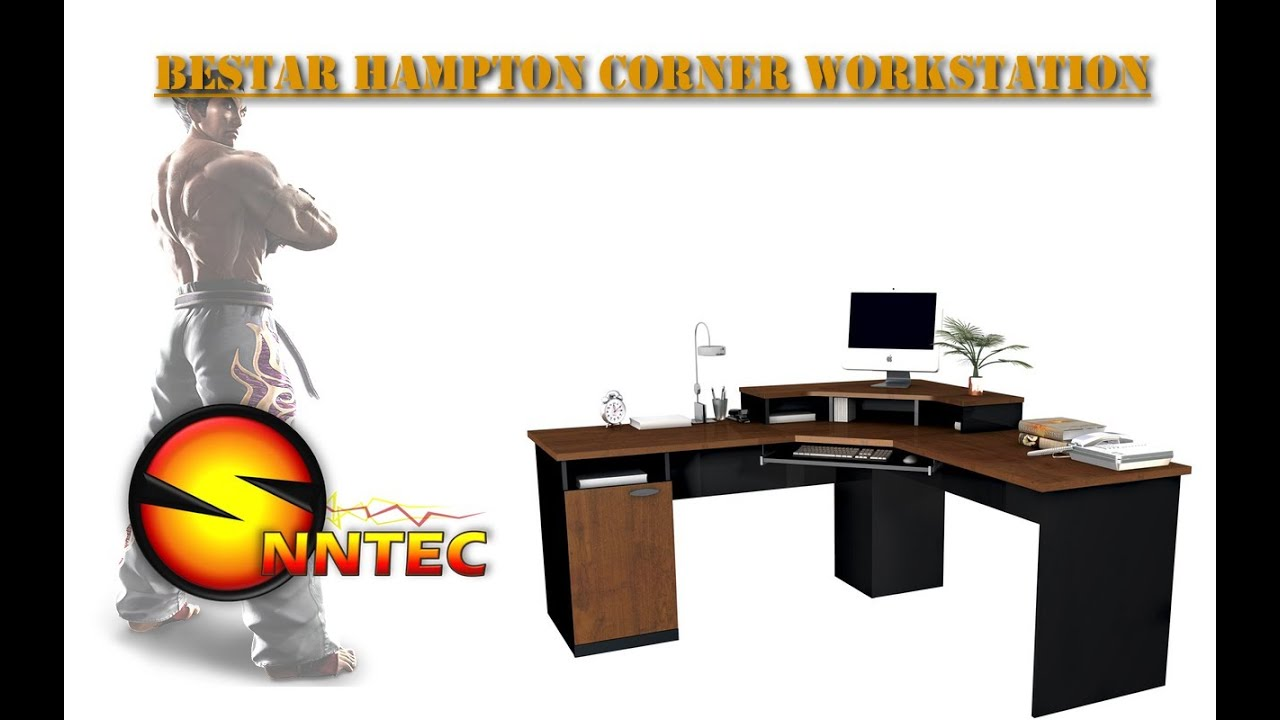Computer Desk Bestar Hampton Corner Workstation Review By Snntec You
