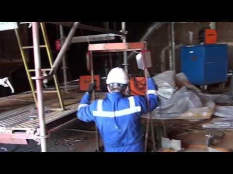 Drone ballast tank internal inspection