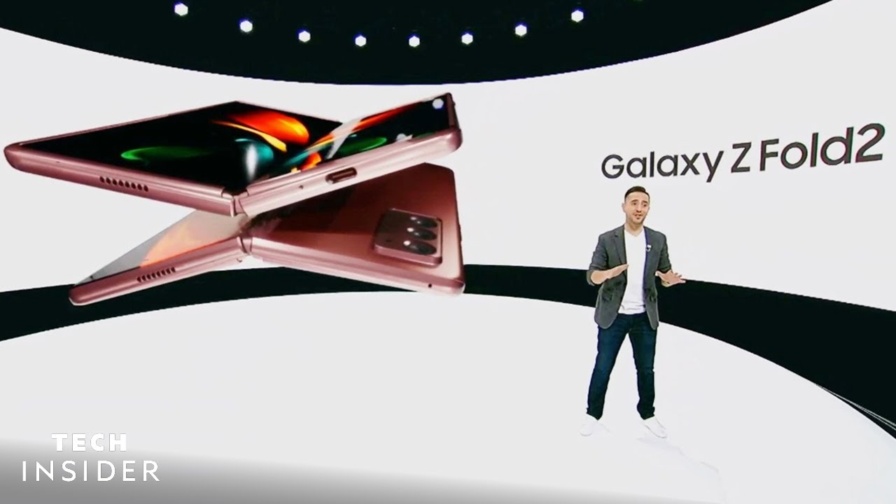 Samsung unveils the Galaxy Note 20 and its latest foldable phone ...