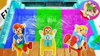 Playmobil Rodzina Wróblewskich | Odpowiedz DOBRZE albo WPADNIESZ DO BASENU