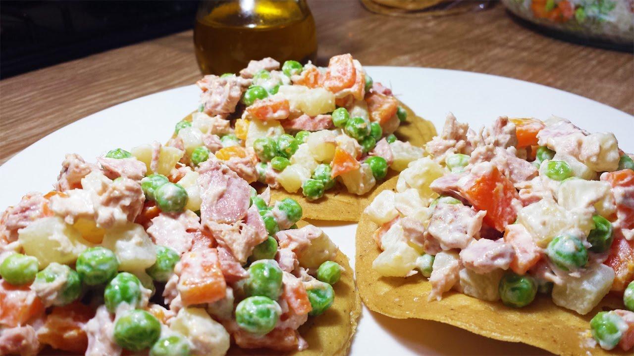 Cocinar tostadas de atun fresco rico y sabroso youtube for Cocinar guisantes frescos