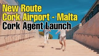 New Airline Route to Malta from Cork, Ireland - Travel Agent Launch