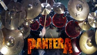 "Pantera - ""Fucking Hostile"" - DRUMS"