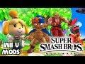 Isabelle, Incineroar, Ken & Geno (Remaining Ultimate Characters?) - SSBU Inspired Wii U Mods!