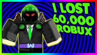 I LOST 60,000 ROBUX... (DOMINUS MESSOR)
