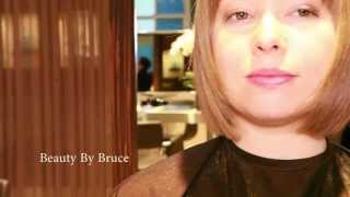 How to dry cut a graduated bob. Bruce Kushnick, Beauty By Bruce. Cut off your hair.