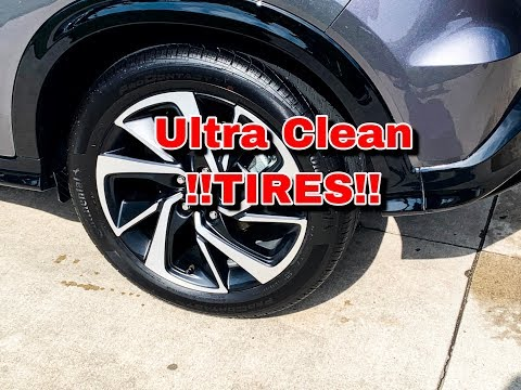 How To Clean Tires/Rims