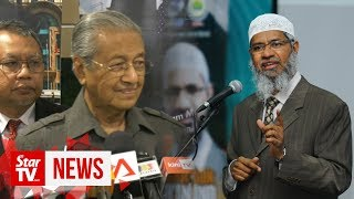 Tun M: No change of stance on deporting Zakir Naik