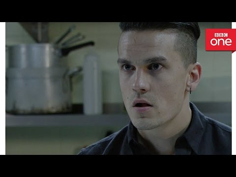 Kyle confronts Steven - EastEnders 2016 - BBC One