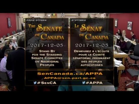 FNMPC - Standing Senate Committee with Aboriginal Peoples (Part 1)