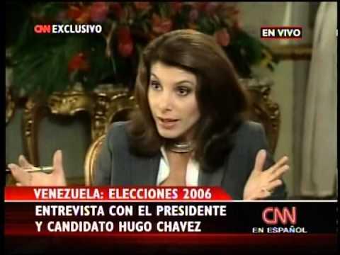(2006) Hugo Chávez entrevistado por CNN En Español el 1 de diciembre de 2006