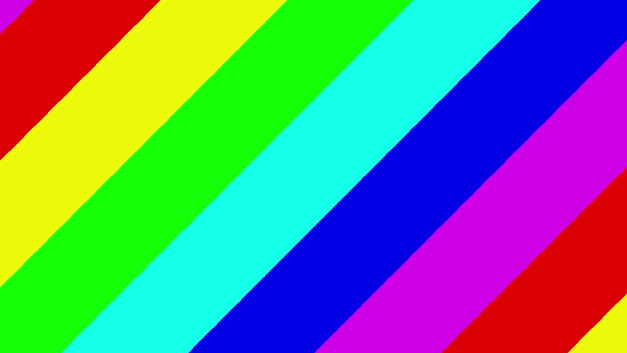 Rainbow tilted lines - simple HD animated background #56 ...