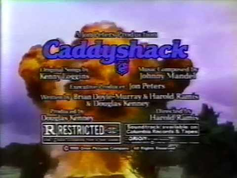 Caddyshack 1980 TV trailer