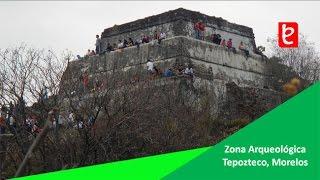 Zona Arqueológica Tepozteco, Tepoztlán Morelos | www.edemx.com