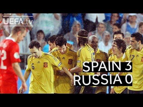 SPAIN beats RUSSIA