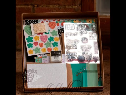 Oh happy day card kit - Stampin' Up! Sneak Peak of new catalog items with Hedgehog Hollow