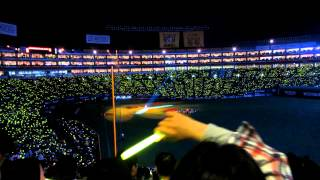2012.3.30 ホークス2012開幕戦セレモニーでの植村花菜さん『トイレの神...