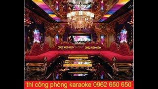 Mẫu phòng karaoke led Làm Phòng 0962 650 650 tư vấn phòng karaoke Nhận Làm Phòng Karaoke tại HCM