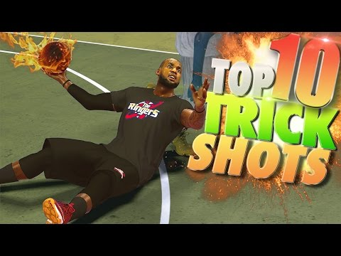 NBA 2K17 TOP 10 First Official TRICK SHOTS Of The Week!