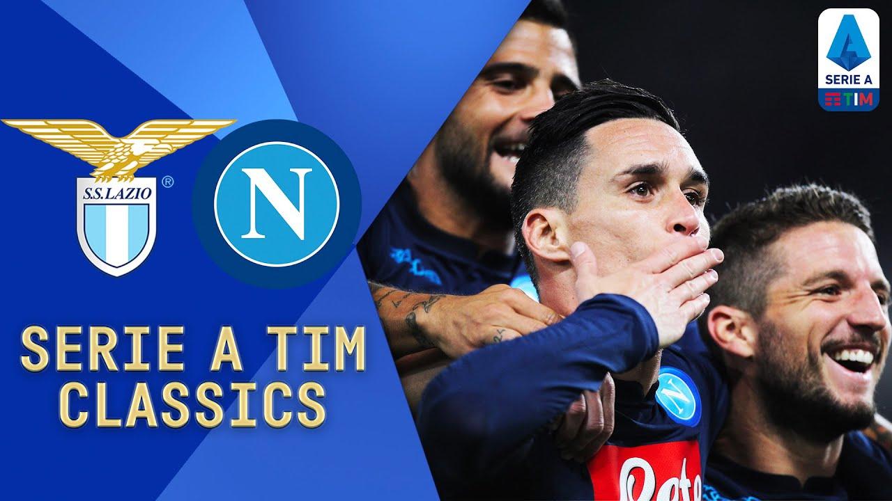 Hamsik, Mertens and Jorginho Star!   Lazio v Napoli (2017)   Serie A TIM Classics   Serie A TIM
