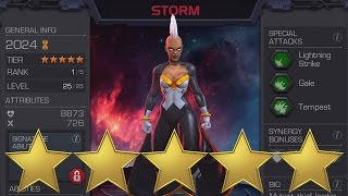 MARVEL: Contest of Champions (iOS/Android) 5 STAR STORM