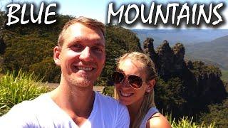 Blue Mountains mit erschreckendem Ende des Tages - Australien | VLOG #77