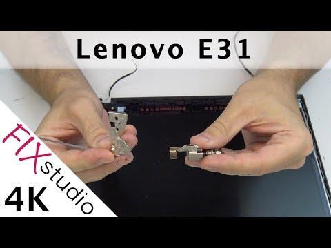 Lenovo E31 - hinge replacement [4K]