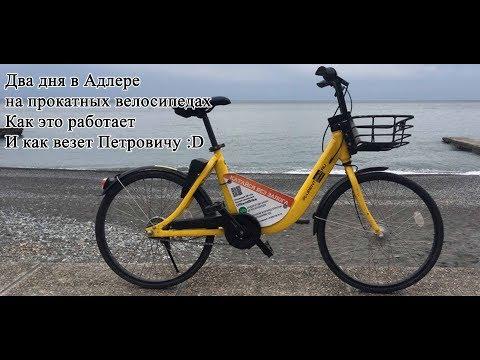 Два дня в Адлере на прокатных велосипедах