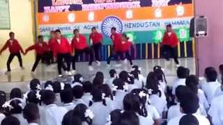 """Chak Lein De"" Chandni Chowk To China L.V.M School Choreography By Manish & Govinda 2014-15"
