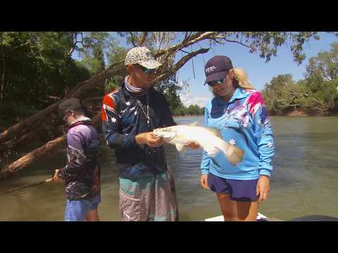 IFISH Daly River  Vibe Fishing For Barra
