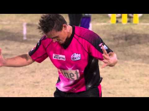 Steve O'Keefe BBL|03 Highlights - Sydney Sixers