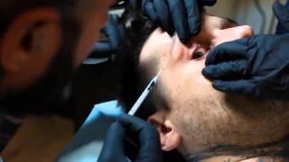 POPEK Monster - tatuowanie oczu