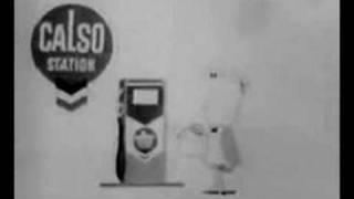 1960 Calso-Chevron Anuncio de TELEVISIÓN de dibujos animados