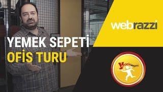Yemeksepeti ofis turu - Yemeksepeti'ni Nevzat Aydın, kendi ofisinde anlatıyor