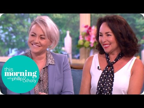 Jaime Winstone and Samantha Spiro On Becoming Dame Barbara Windsor  This Morning